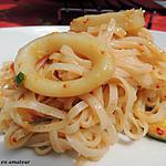 recette Anneaux de calamars au paprika et sauce Yakitori