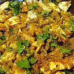 recette Tajine poulet-quinoa-abricots secs