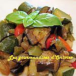 recette Légumes du soleil confits