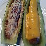 recette Courgette saucisse... avec oignon, moutarde ou ketchup ?