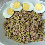 recette Salade de flageolets au thon