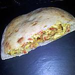 recette Sandwich kebab dans le pain au poulet-curry
