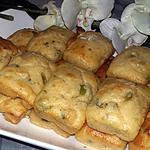 recette Minis cakes saumon olive citron