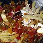 recette Salade de penne au légumes grillés et au fromage