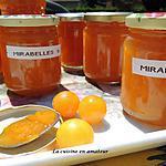 recette Confitures aux mirabelles