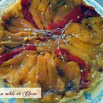 recette TARTE TATIN DE POIVRONS JAUNES