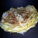 recette Crêpes d'omelette