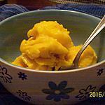 recette Sorbet végétalien à la mangue