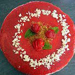 recette Bavarois fraises-spéculoos