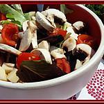 recette Salade de Champignons au gruyère