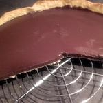 recette Tarte au chocolat rapide et facile ( avec 3 ingrédients )