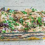 recette Gratin de sardines à l'orange et aux pignons de pin