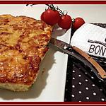 recette Quiche sans pâte aux haricots verts et Pommes de Terre.