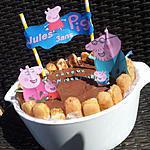 recette Gâteau D'Anniversaire *Le bain de boue des cochons *Peppa pig*