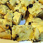 recette Gâteau aux poires, pépites de chocolat et fleur d'oranger