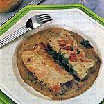 recette Escalopes farcies aux herbes