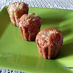 recette Petits gâteaux ananas, lytchees (pour utiliser vos blancs)