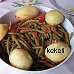 recette Haricots verts et patates