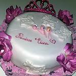 recette Gâteau de Naissance Princesse