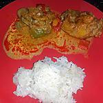 recette riz gluant poulet sauce saté