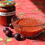 recette Coulis de prunes