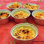 recette Clafoutis individuels aux mirabelles
