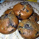 recette muffins au myrtilles