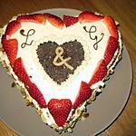 recette Gâteau de saint Valentin