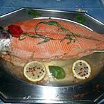 recette Truite de mer en bellevue