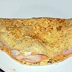 recette Omelette oseille/chèvre