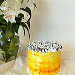 recette Layer cake meringué citron pavot