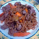 recette wok de boeuf au legume