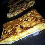 recette Crêpes d'omelette au jambon-fromage