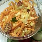 recette Chutney mangue et chou blanc - carotte