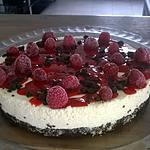 recette CHEESE CAKE FRAMBOISE OREO SANS CUISSON