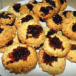 recette Pastini di Mandorle (cookies aux amandes et à l'abricot)