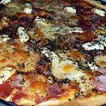 recette Pizza jambon mozzarella