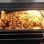 recette pomme de terre et champignons au four
