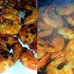 recette Crevettes sautées au curry