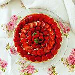recette Tarte fraise chocolat blanc