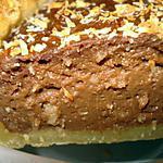 recette Tarte à la noix de coco et au chocolat