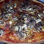 recette Pizza jambon champignons mozzarella