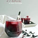 recette Thé glacé Early Grey à l'hibiscus, fleur d'oranger (et quelques framboises)