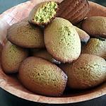 recette Madeleine au the vert matcha et citron