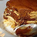 recette Gâteau aux petits-beurres et mousse au chocolat sans cuisson(bolo de bolacha maria)
