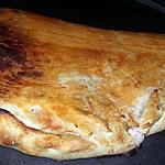 recette Calzone jambon fromage oeuf