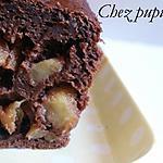recette Cake au chocolat, caramel & pommes