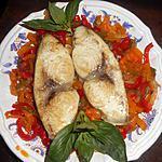 recette Tranche d espadon aux poivrons