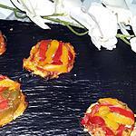 recette Minis tatins de poivrons