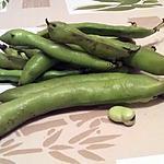 recette Fèves fraîches aux lardons & oignons